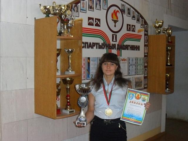 Татьяна Романюк - победительница прошлогоднего турнира в категории свыше 60 кг