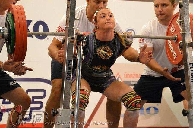 Мировой рекорд Лорен Лент - 200 кг
