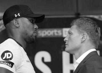 Боксерский бой: Энтони Джошуа vs Александр Поветкин