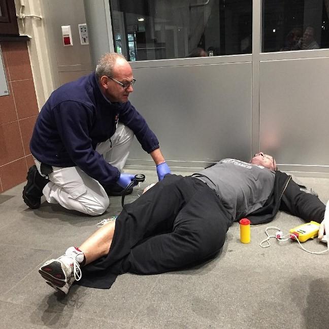 Ронни Рокел попал в больницу