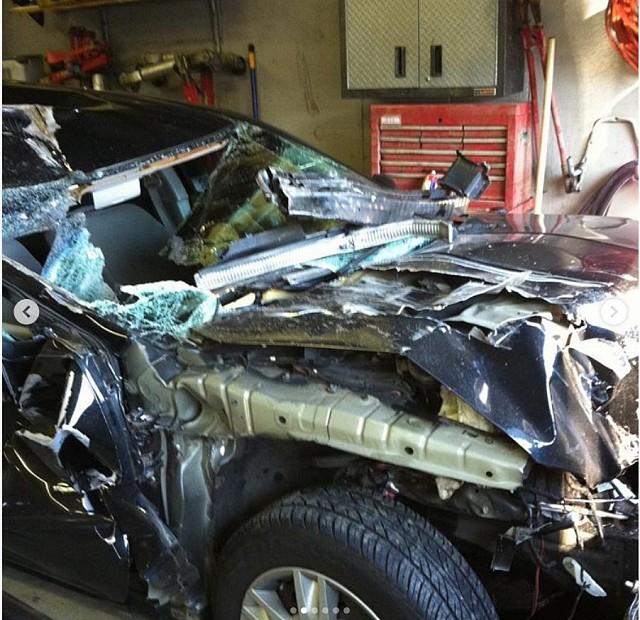 Бодибилдер Гай Цистернино рассказал об аварии
