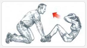 Варианты упражнения подъемы туловища 1