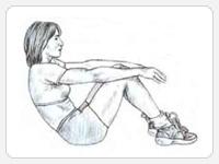 Варианты упражнения подъемы туловища 2