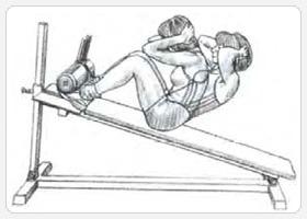 Варианты упражнения подъемы туловища 3