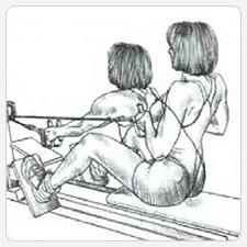 Тяги нижнего блока - выполнение упражнения