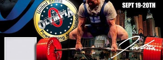 Mr. Olympia Pro Invitational Powerlifting