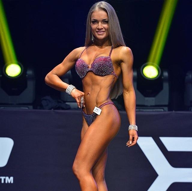 Алёна Демкив, fitness-bikini up to 158 cm