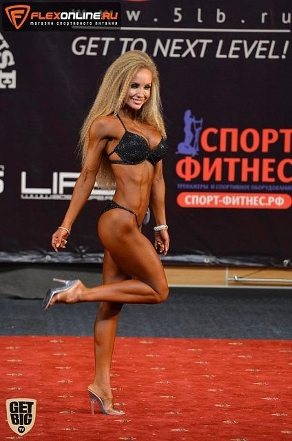 Анастасия Давлетова, fitness-bikini 169 cm