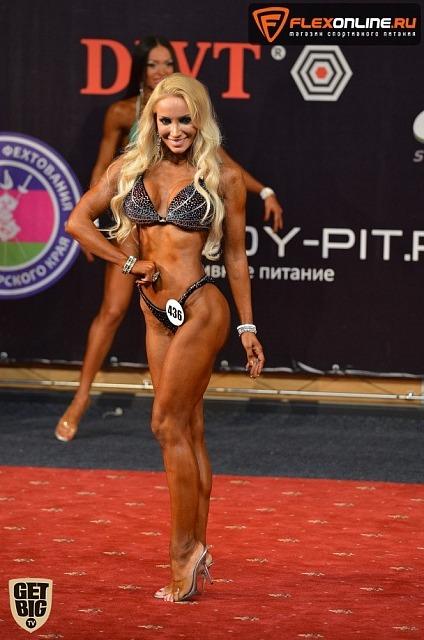 Екатерина Красавина, fitness-bikini up to 169 cm