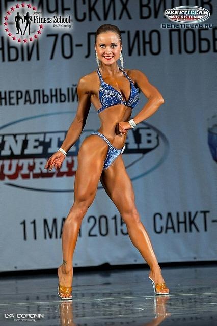 Елена Гомулина, fitness-bikini up to 163 cm