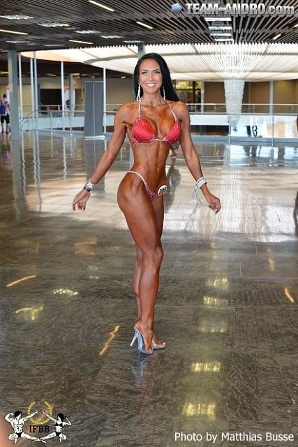Ксения Шевелева - 2 место бикини-фитнес выше 169см