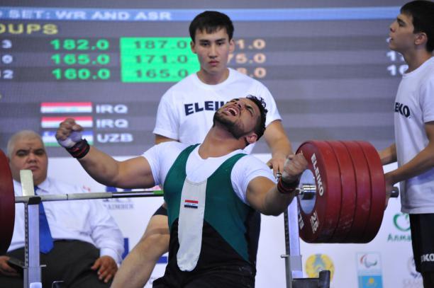 Расул Мохсин после установления мирового рекорда