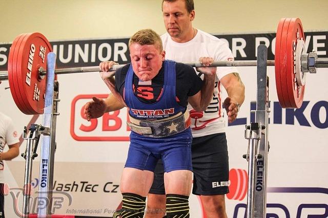 Далтон ЛаКо приседает 185 кг