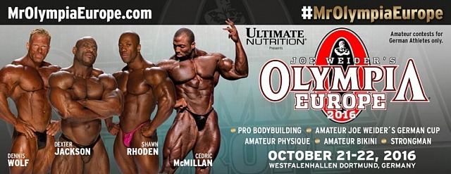 Mister Olympia Europe