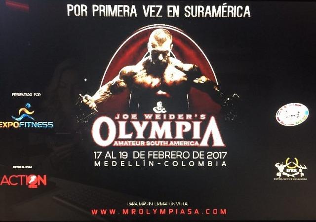Любительская «Олимпия-2017» в Южной Америке