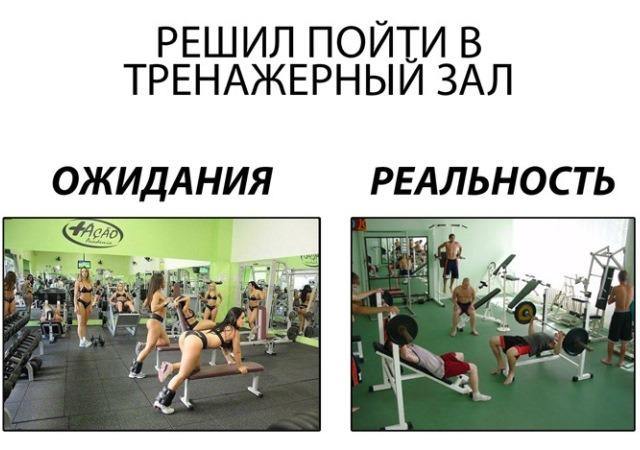 Фитнес приколы про качков в картинках