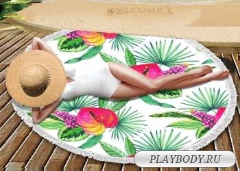 Пляжные полотенца с печатью
