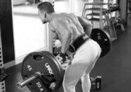 Тяга штанги к поясу в наклоне - эффективное упражнение для спины