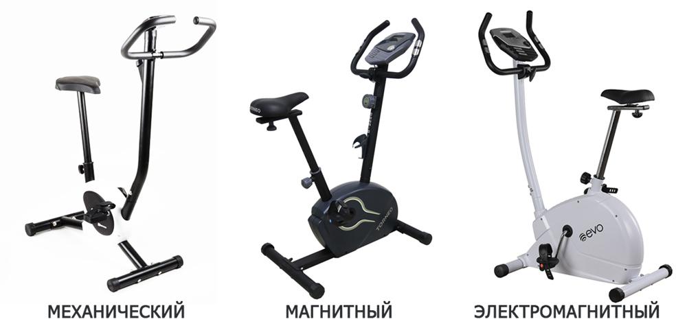 виды велотренажеров